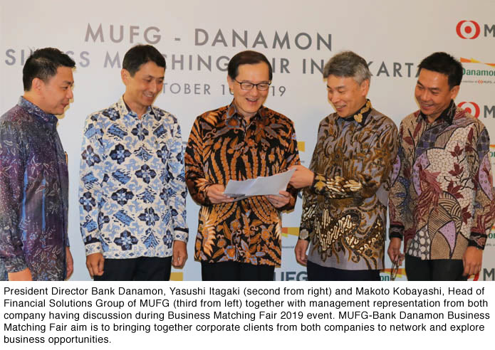 Danamon and MUFG Host First Business Matching Fair in Indonesia