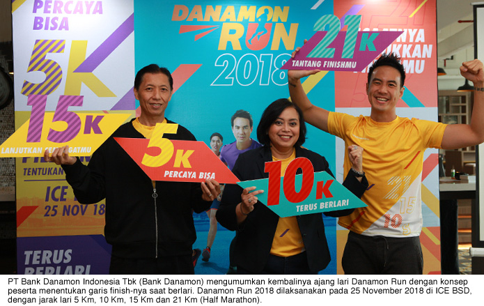 In Observance of National Health Day, Danamon Holds Danamon RUN 2018