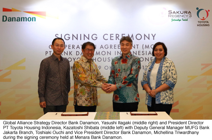 Bank Danamon Supports PT Toyota Housing Indonesia In Home Ownership Financing