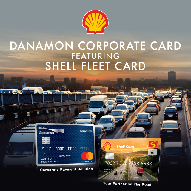 danamon corporate shell card bank danamon - Shell Fleet Card