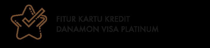 Kartu Kredit Danamon Visa Platinum Bank Danamon