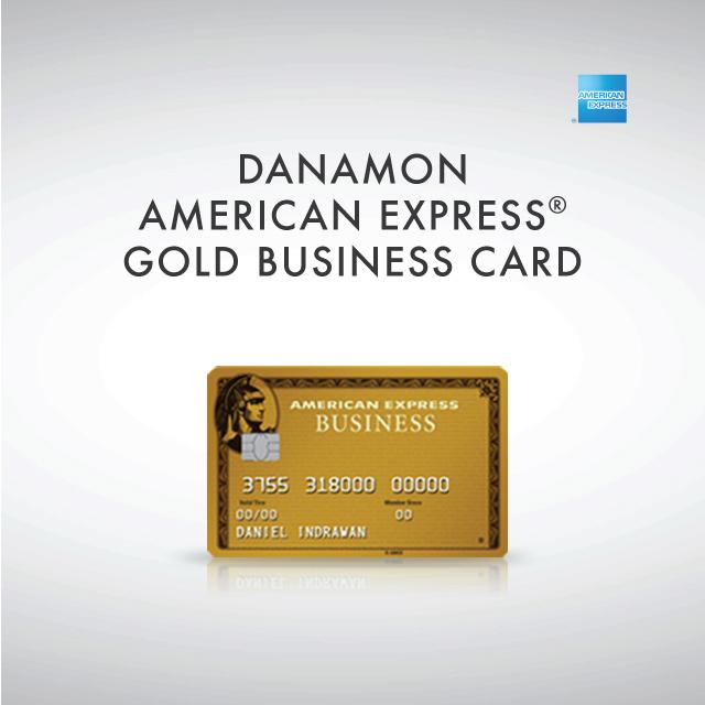 Bisnis Danamon American Express Gold Card | Bank Danamon