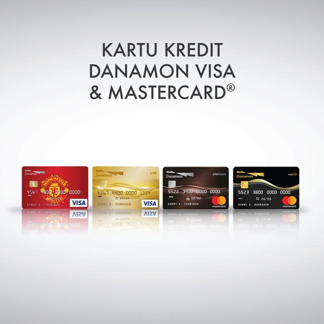 Kartu Kredit Visa Mastercard | Bank Danamon